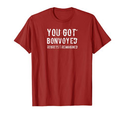 Red Bonvoyed T-Shirt for Man on Amazon
